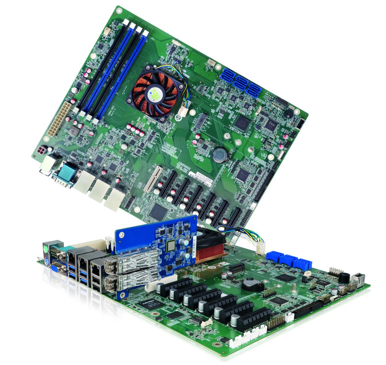 Industrie-Motherboard mit 10GbE LAN & Xeon CPUs