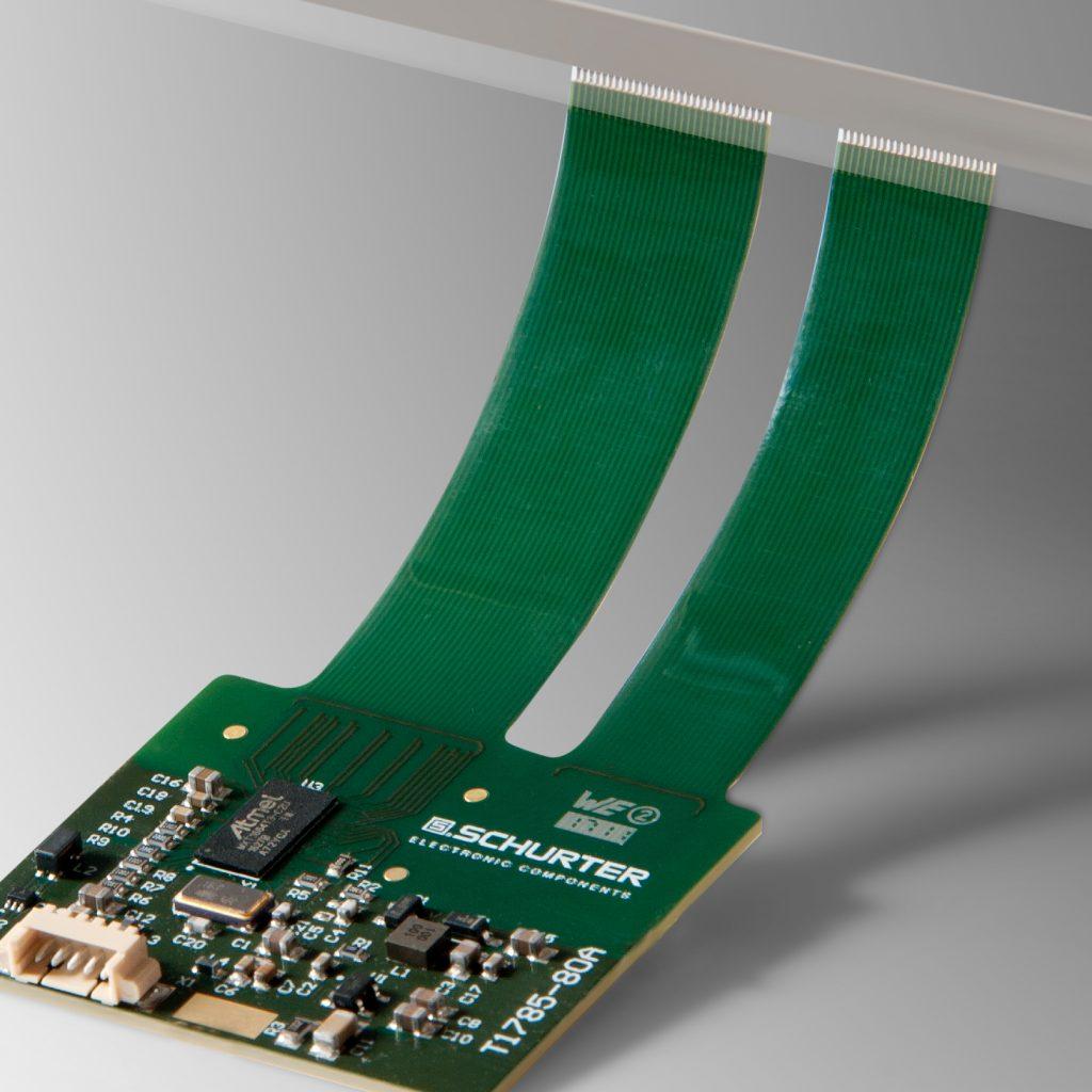 Schurter erweitert das PCAP Controller Portfolio mit Maxtouch Lösungen