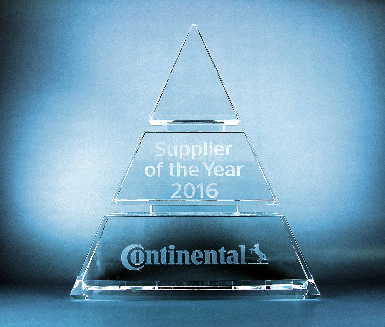 Rohm erhält 'Supplier of the Year 2016 Award' von Continental