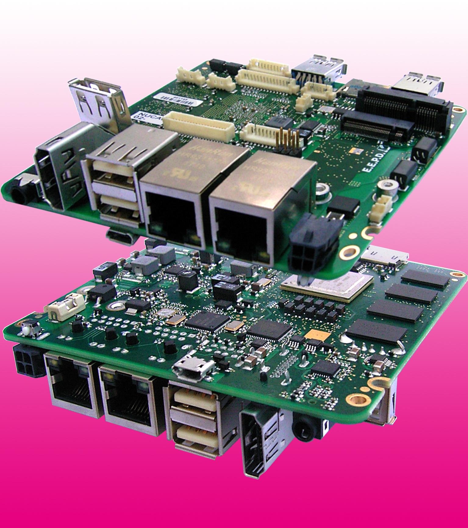 Single-Board-Computer für industrielle und Fahrzeug-Anwendungen