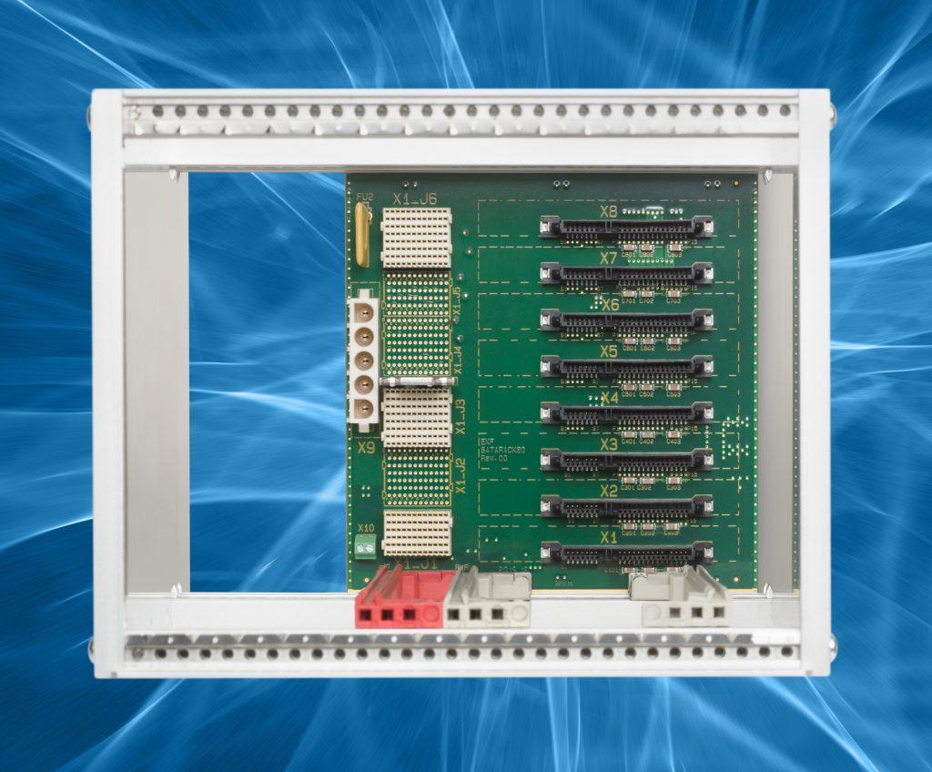 Achtfach SATA SSD Einschubkassette