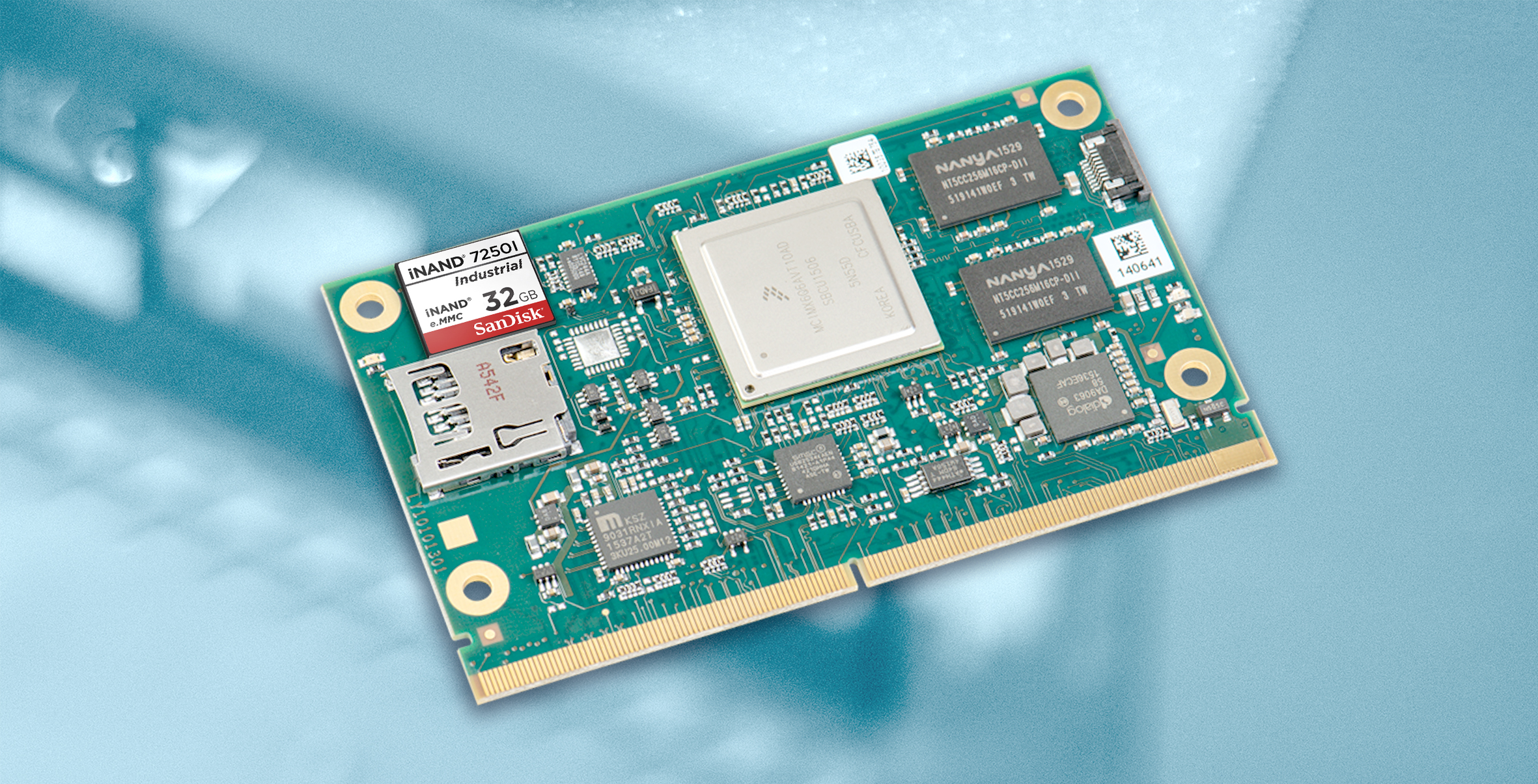 Embedded Flash Drive mit langer Lebensdauer
