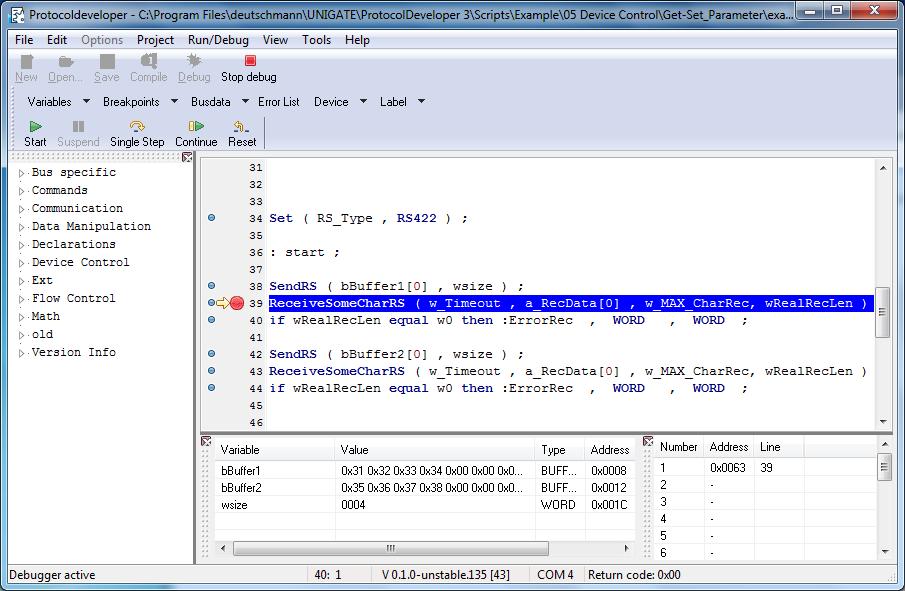 Einfaches Programmieren von Unigate-Modulen