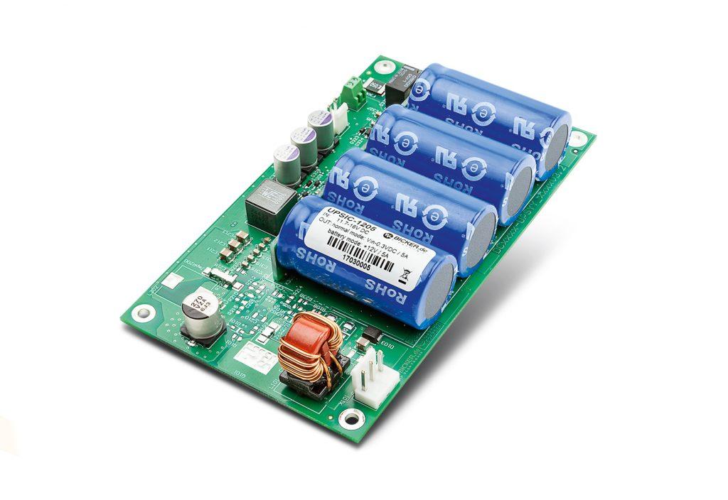 DC-USV-Systeme mit Energiespeicher