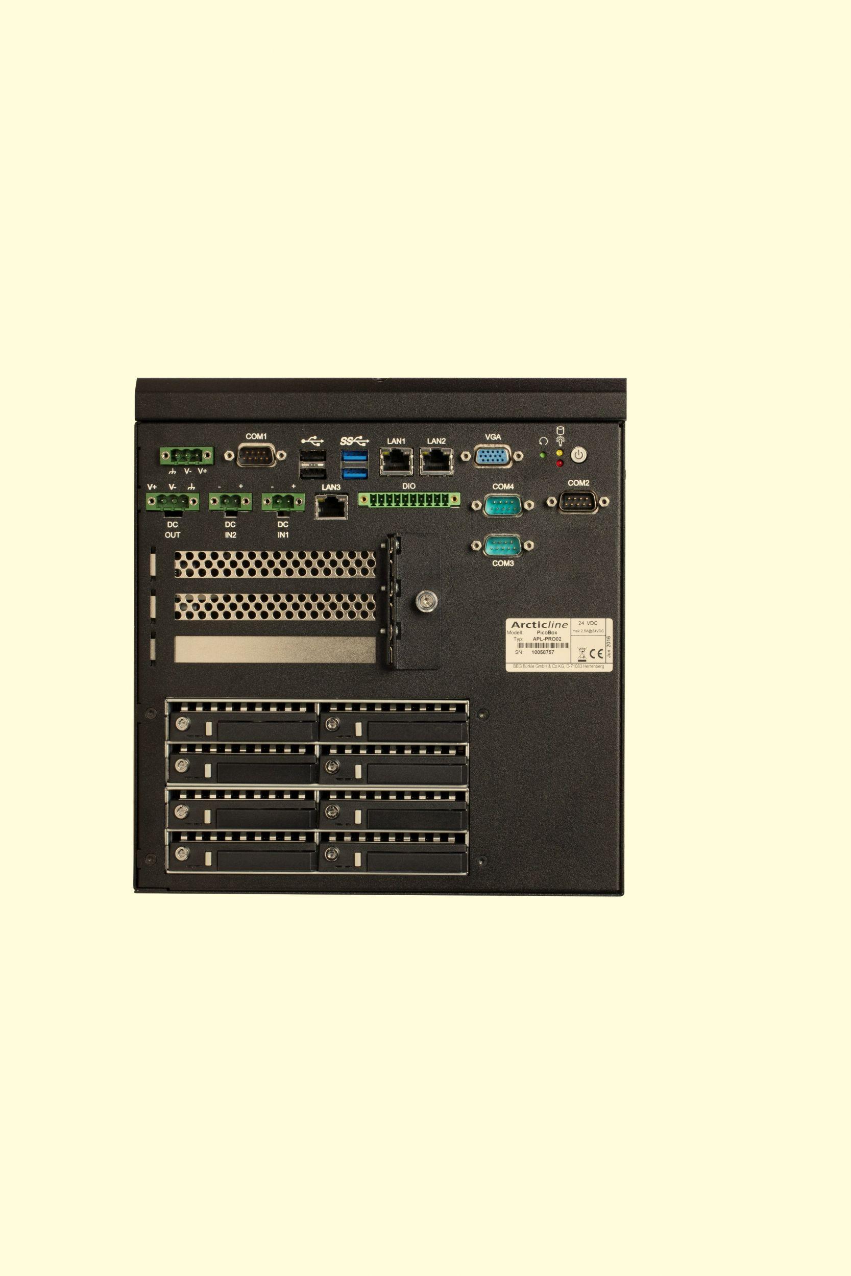 Power-NAS-Rechner mit Intel i5-Prozessor