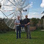 Neues Messgerät für die Sternwarte Gaisberg