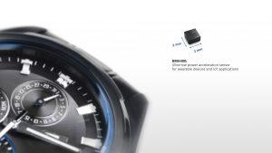 Stromsparender MEMS Beschleunigungssensor Wearables und IoT-Anwendungen