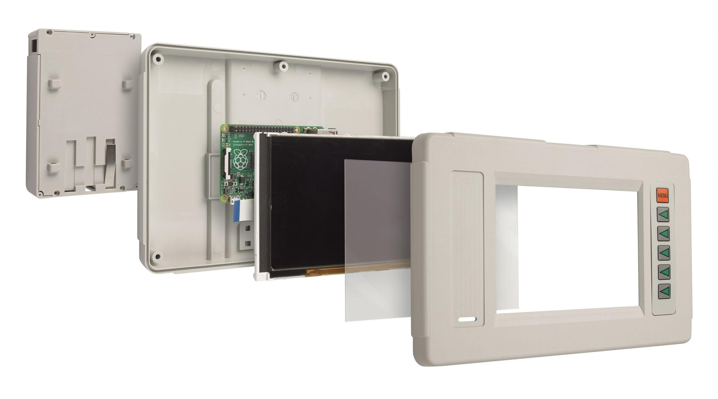 Gehäuse für Displays und Touchscreens