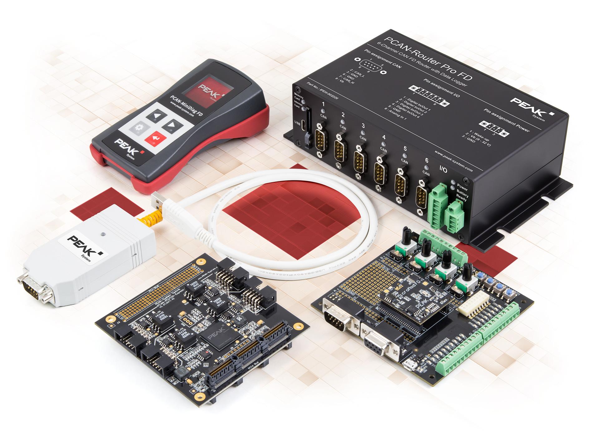 Hardware für CAN-Bus-Anwendungen