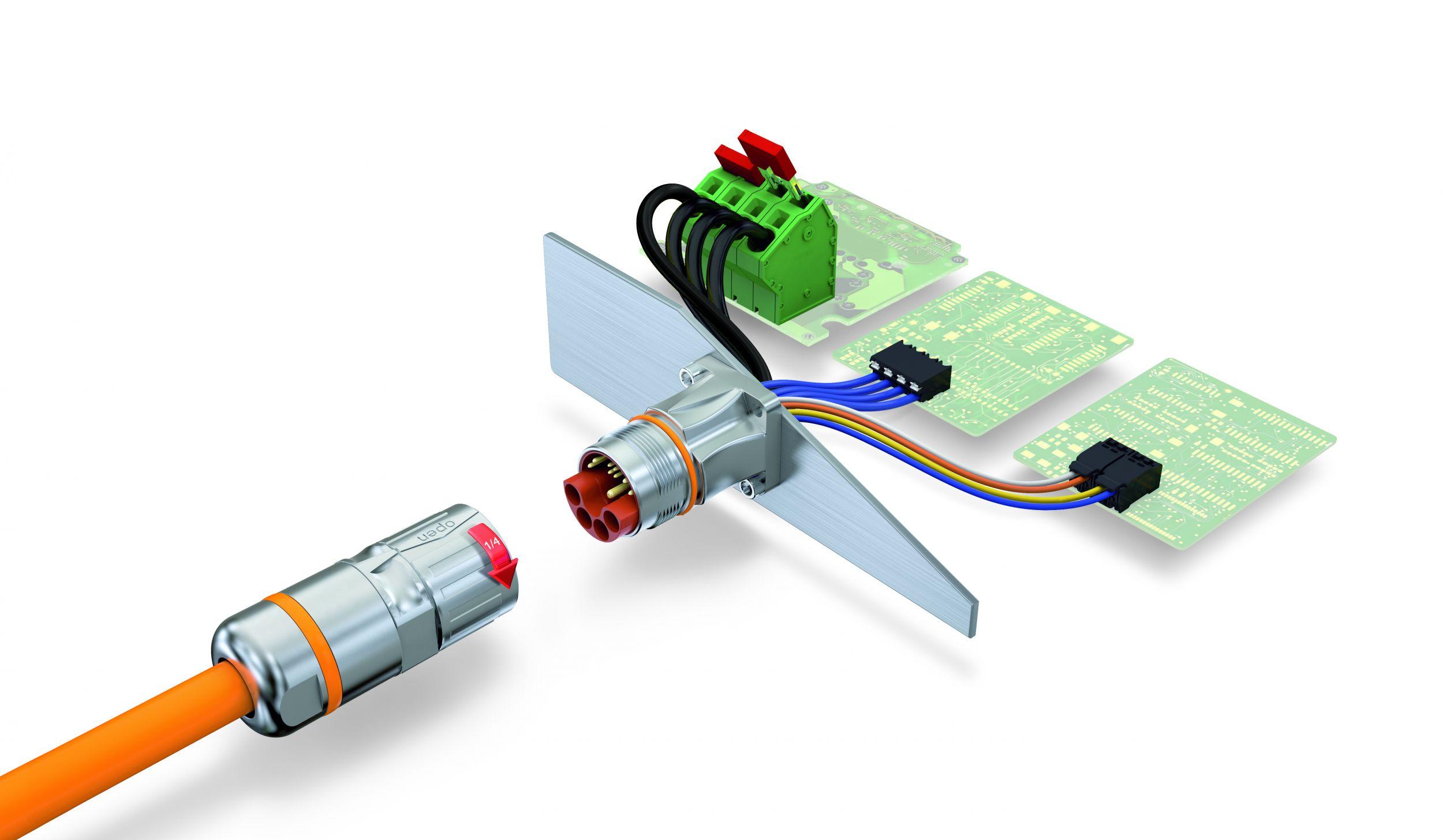Geräteanschlüsse und Elektronikgehäuse: Intelligent und passiv