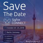 Save the date: Sigfox Connect 2018