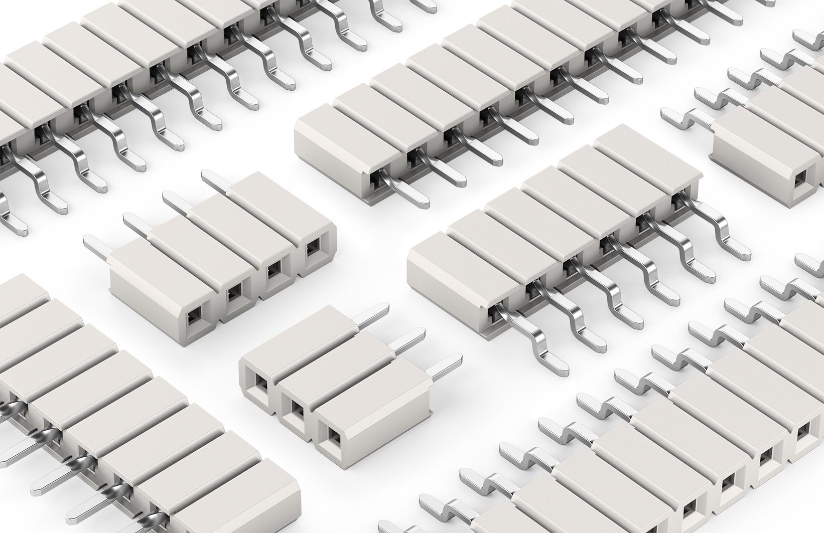 Buchsenleisten für LED-Anwendungen