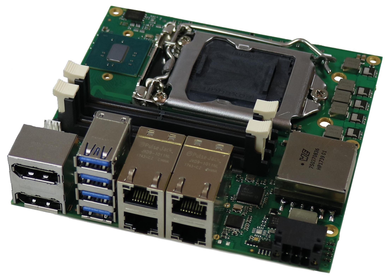 Kompaktes SBC mit Intel Prozessoren der 6./7. Generation