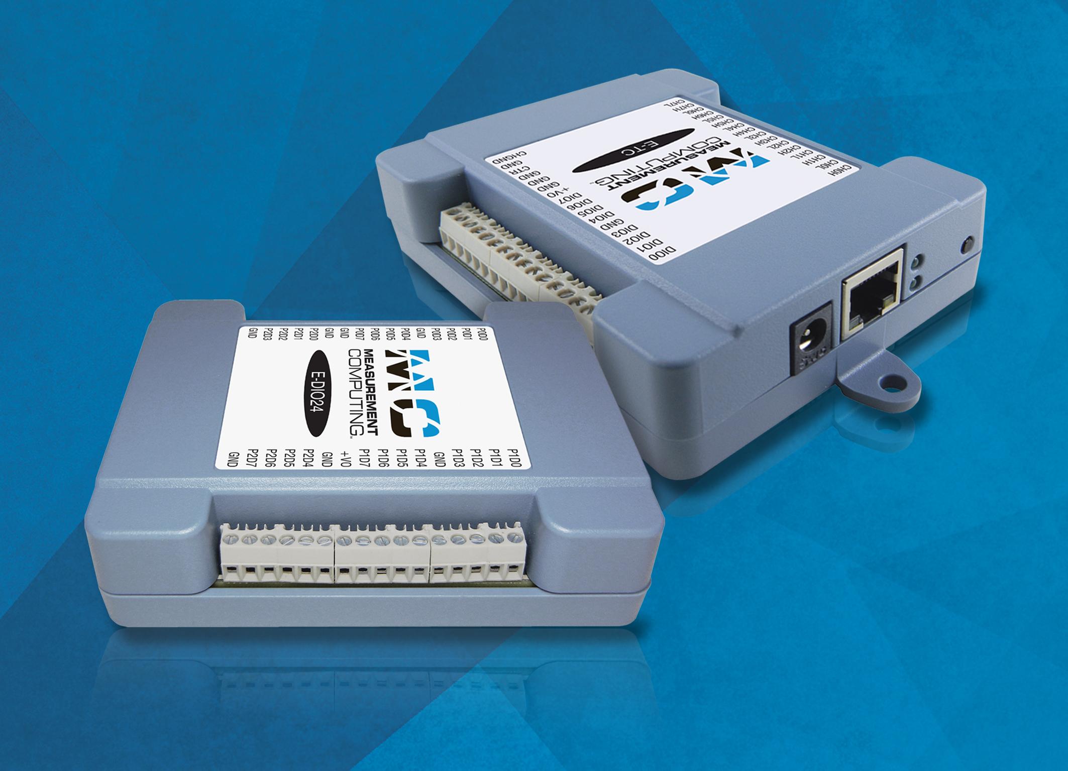 Messgeräte über Ethernet anbinden