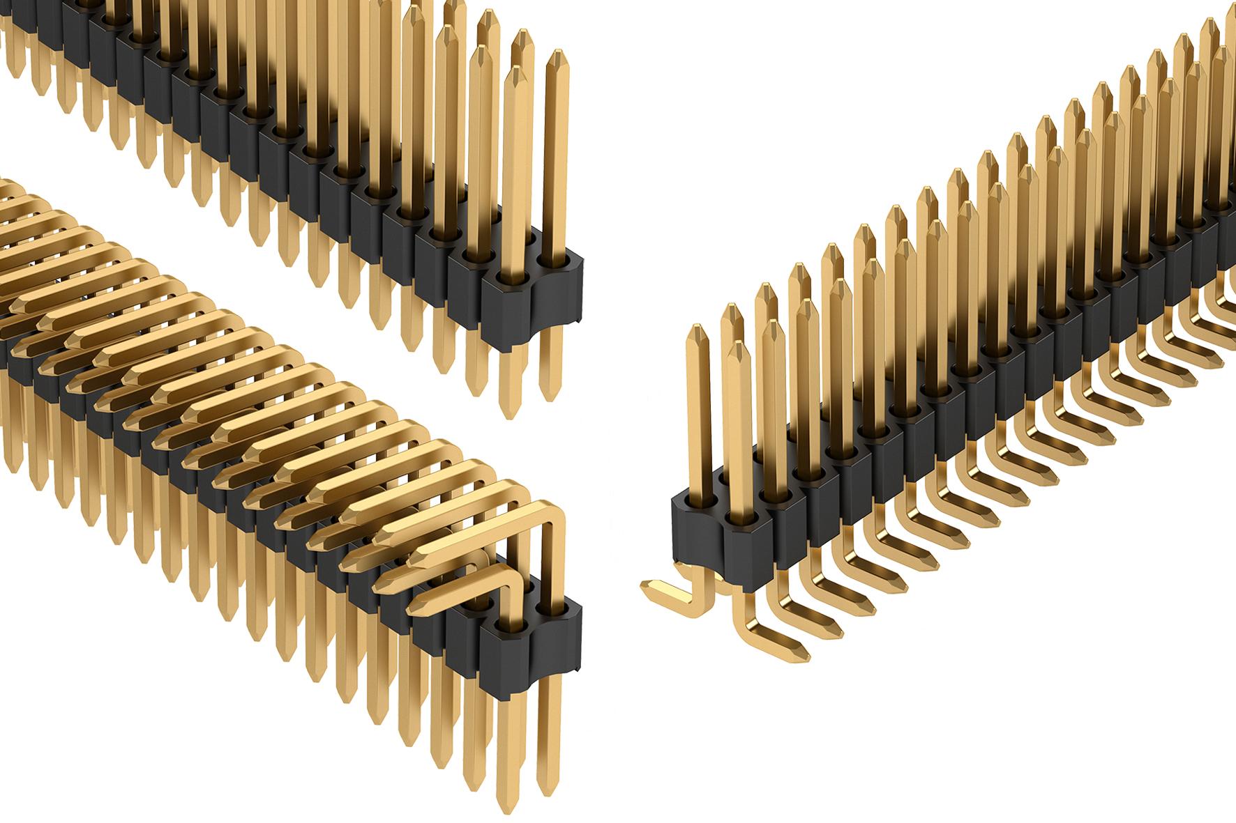 Neue Stiftleistenreihe im Rastermaß 1,27×1,27mm