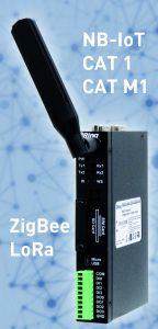 Orio-G30218 Funk-Gateway für NB-IoT, CAT M1, CAT 1, ZigBee und LoRa (Bild: Acceed GmbH)