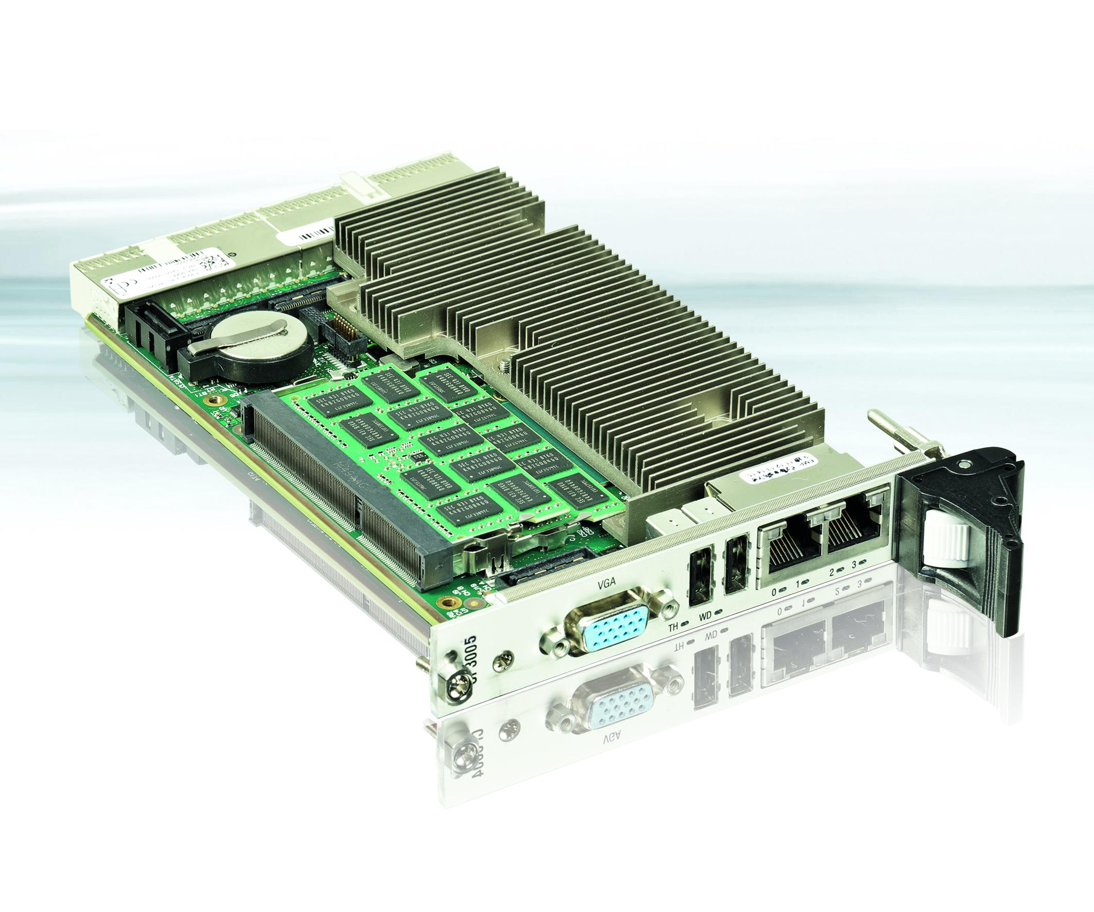 CompactPCI für langfristigen und anspruchsvollen Einsatz
