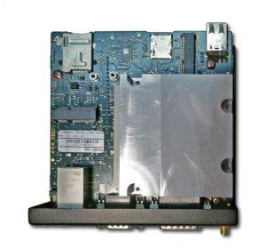 Das LoRa Gateway ist als ARM oder x86-basiertes System mit  Qseven-Modulen von Congatec bestückt (unter dem Kühlkörper). (Bild: Congatec AG)