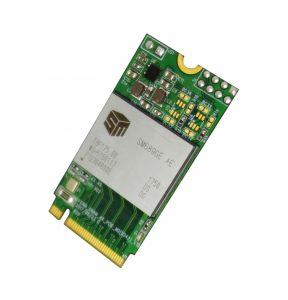 Single Chip SSD auf einem M.2-Board (Bild: HY-LINE Holding GmbH)