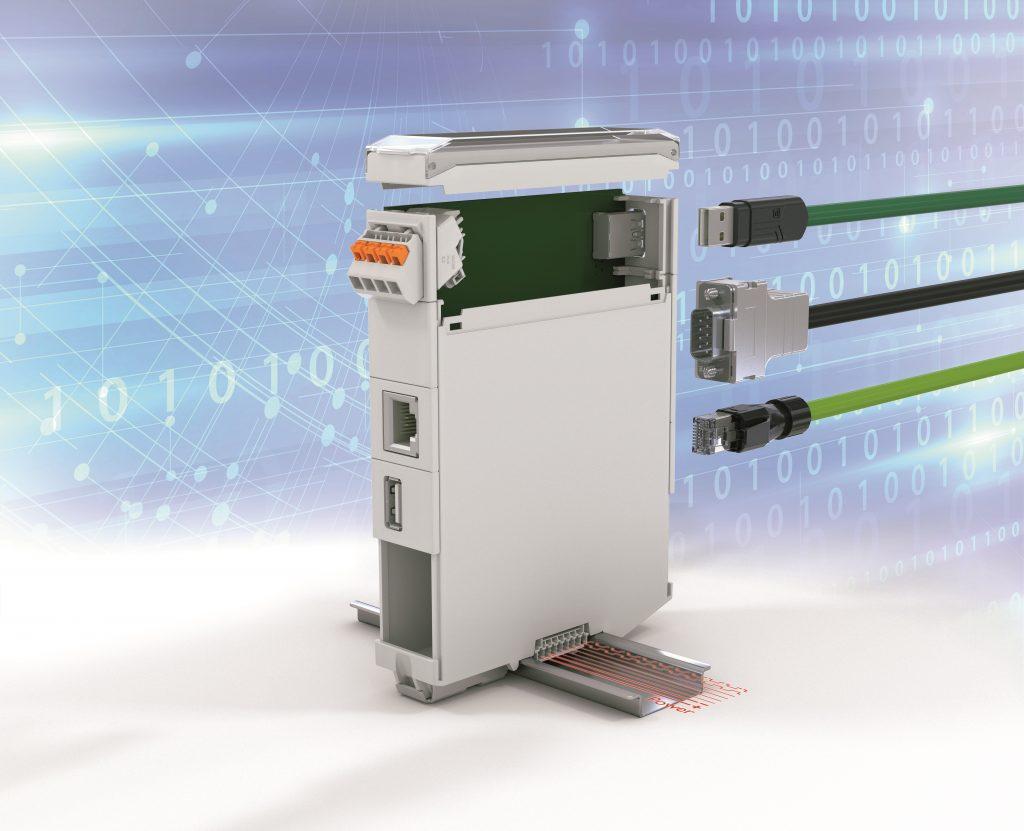 Das modulare und flexible Elektronikgehäuse ICS wurde für die IoT-Geräte von morgen konzipiert (Bild: Phoenix Contact Deutschland GmbH)