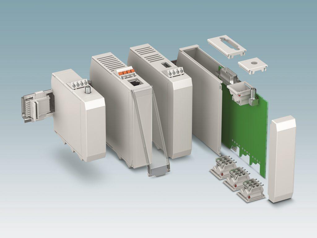 Zusätzliche Flexibilität:  Die vielfältige Anschlusstechnik ist beliebig platzierbar (Bild: Phoenix Contact Deutschland GmbH)