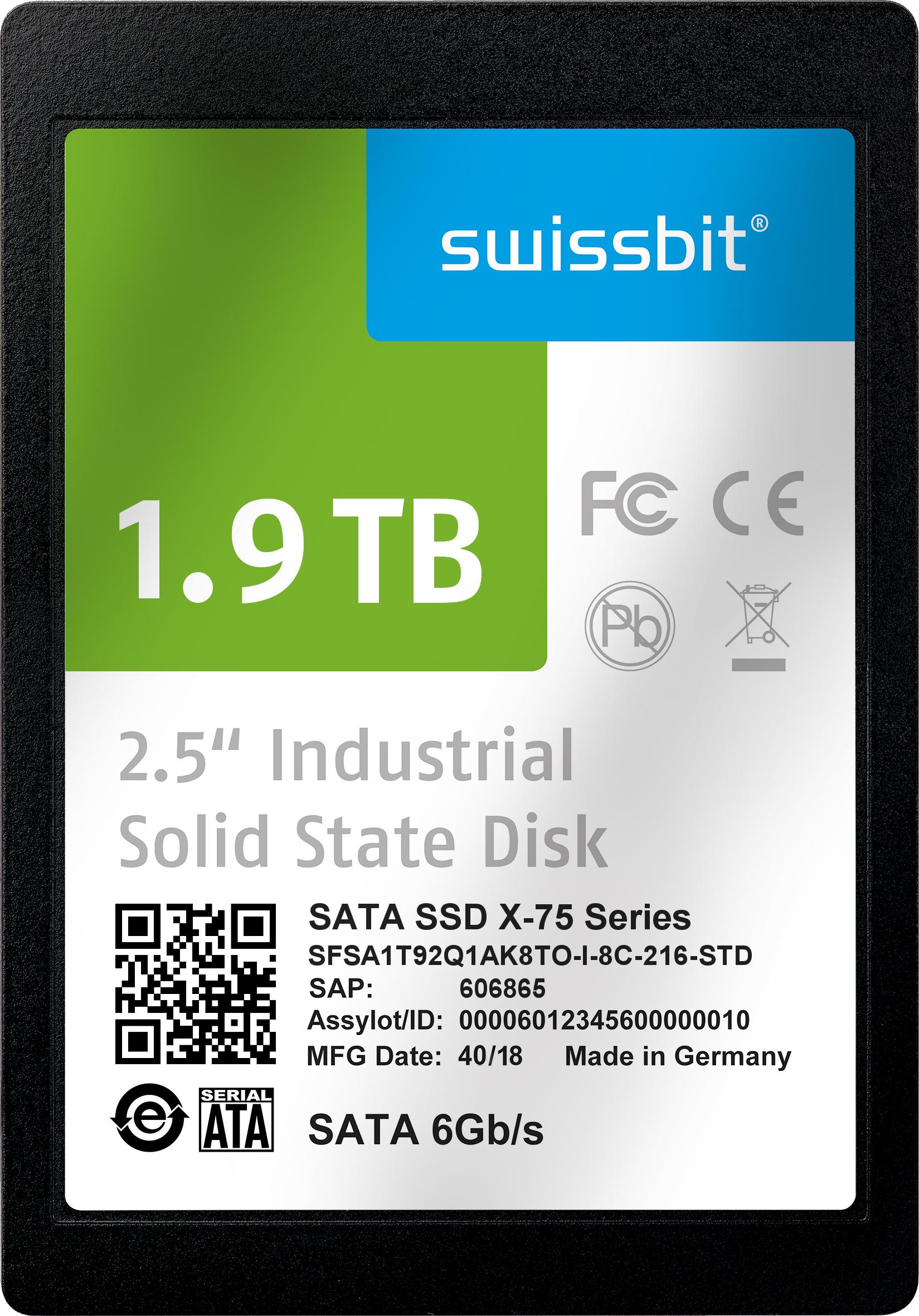 3D-NAND-SSDs für Industrie- und Netcom-Anwendungen
