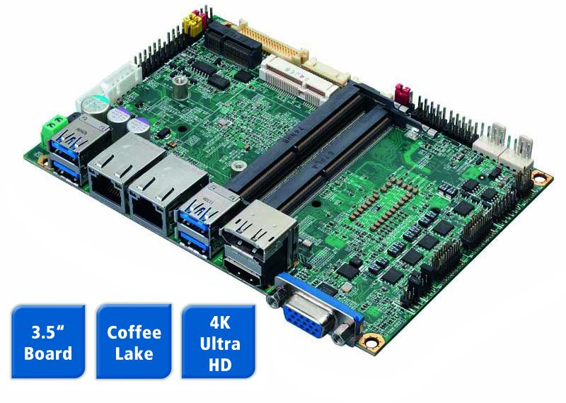 Schmales Low-Power Board für lüfterlose Systeme