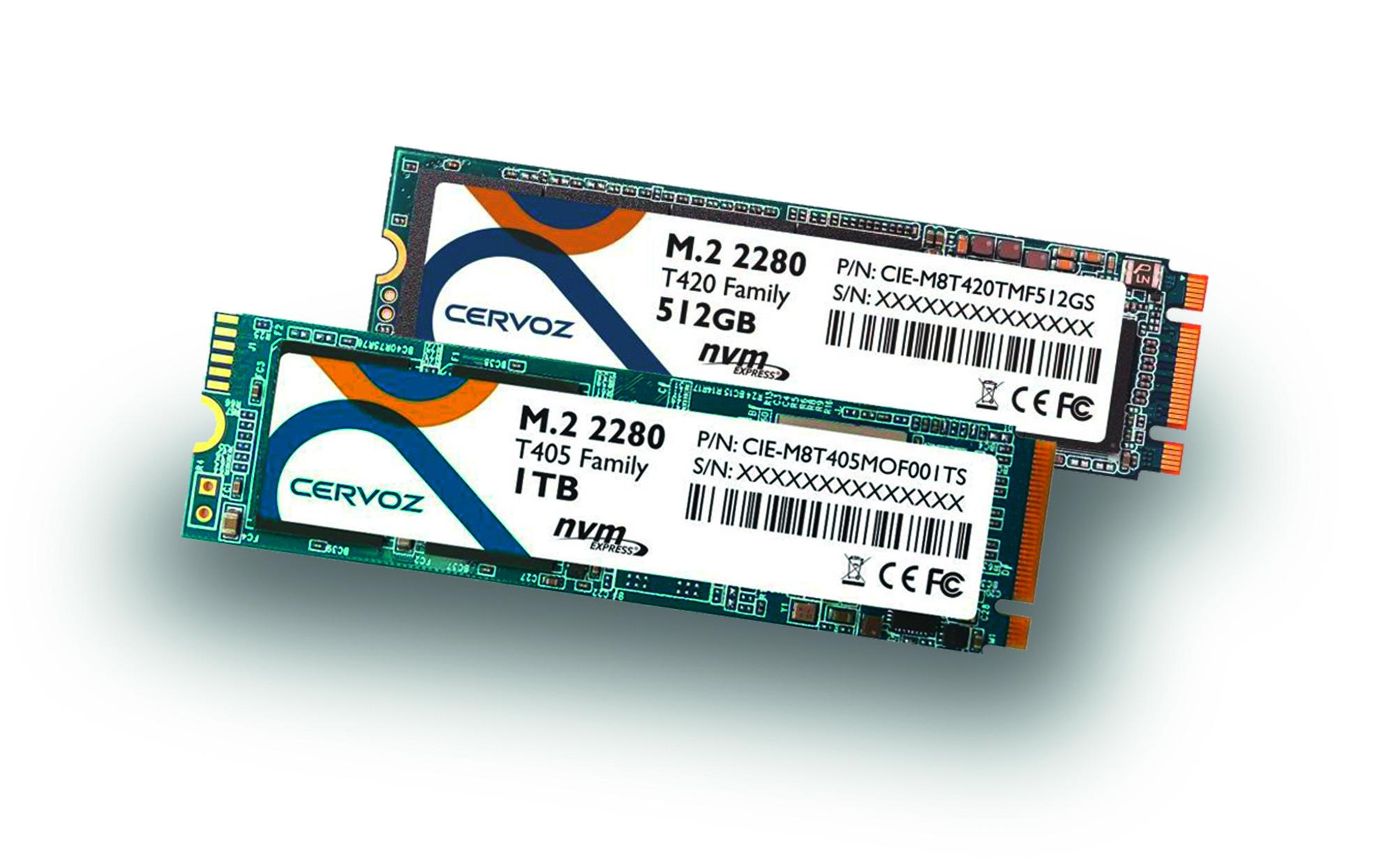 Industrielle NVME M.2 SSD