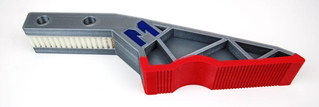 Greifer aus PLA mit Soft-PLA und Support (Bild: Multec GmbH)
