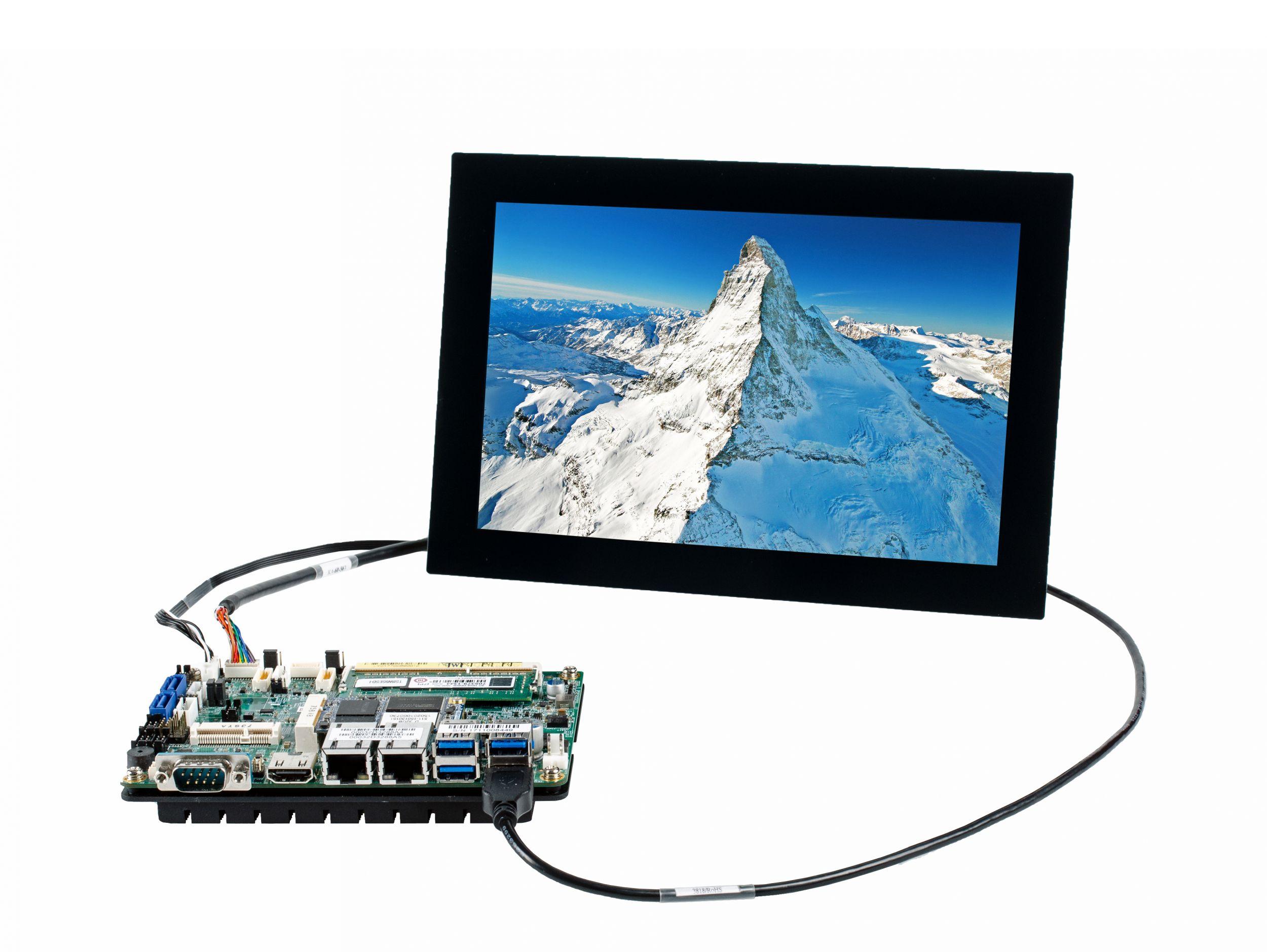 x86-Displayansteuerung mit Plug&Play