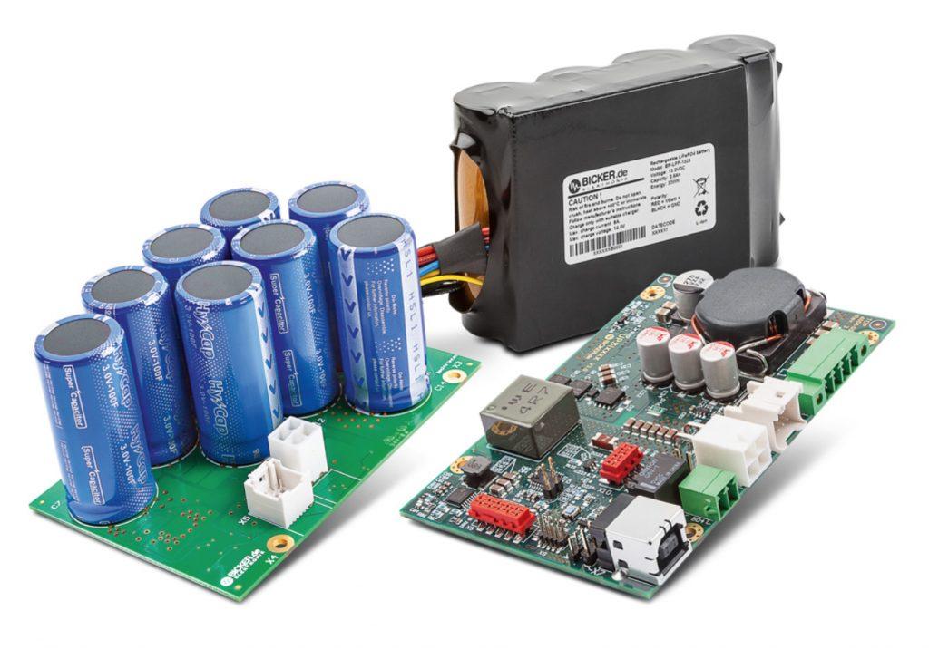 Das DC-USV-System UPSI von Bicker enthält einen bidirektionalen Buck-Boost-Wandler. (Bild: Bicker Elektronik GmbH)