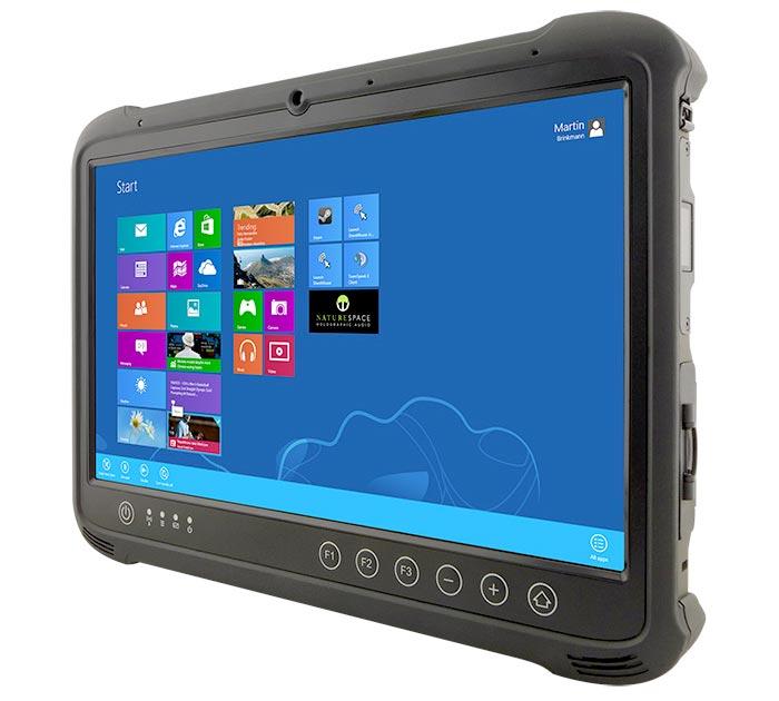 Ruggedized Industrie-Tablet