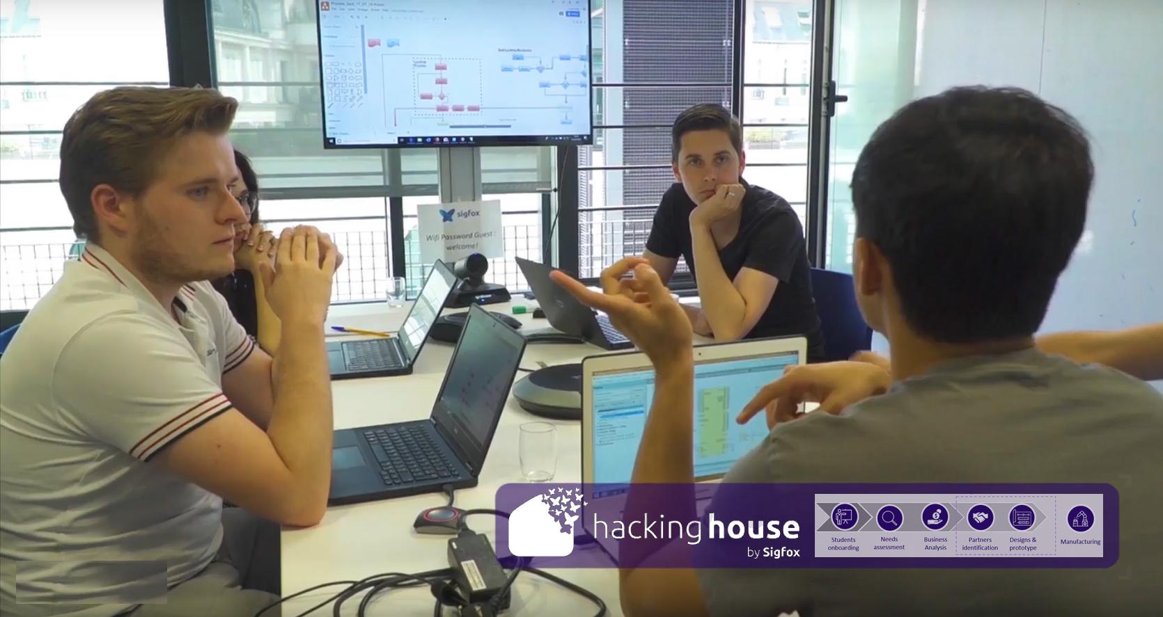 Sigfox Hacking House wird fünf IoT-Startups hervorbringen