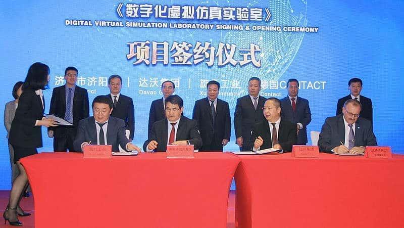 Contact Software und Partner gründen Industrie-Lab in China