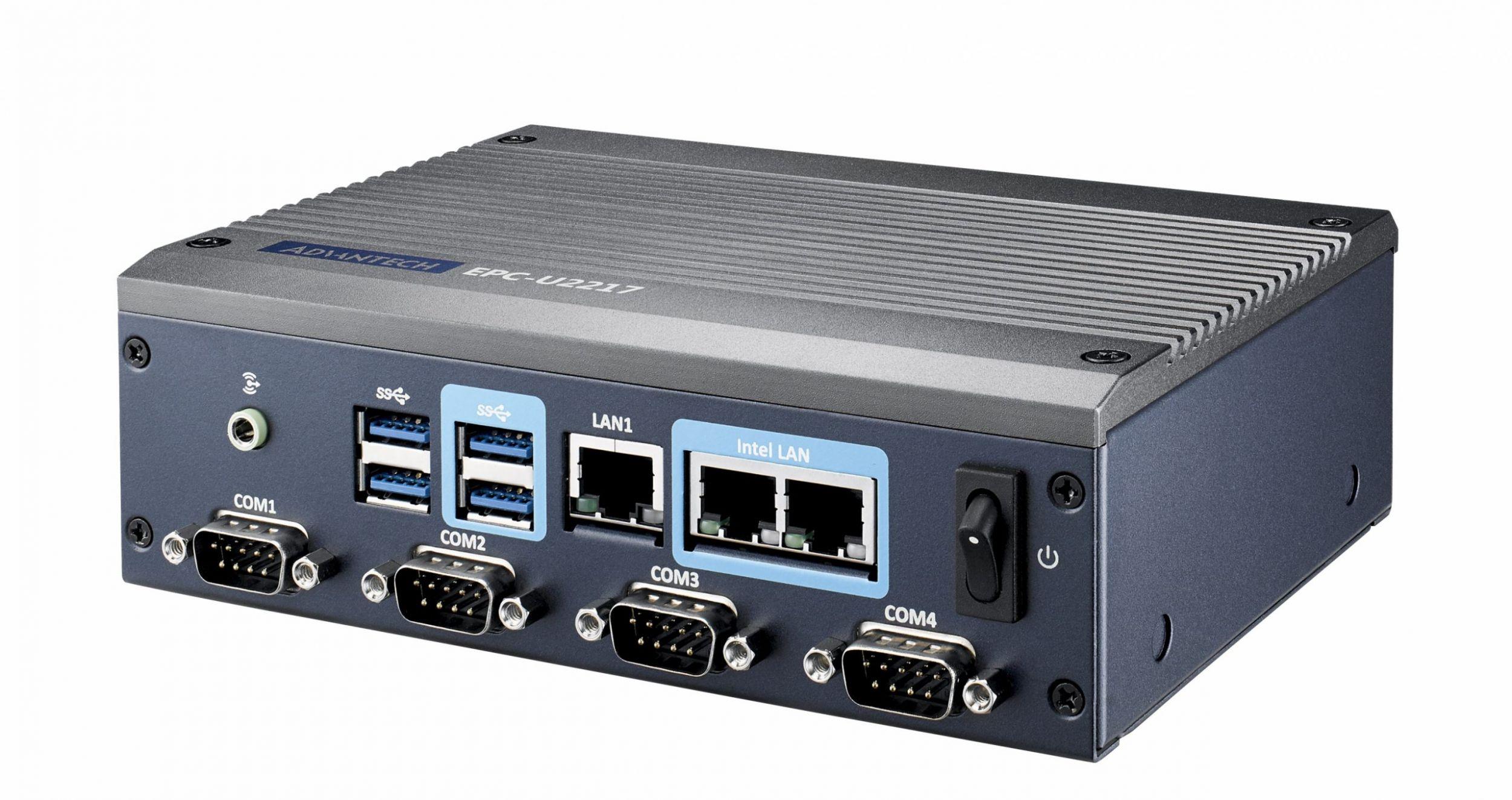 Advantech veröffentlicht kompaktes Embedded System