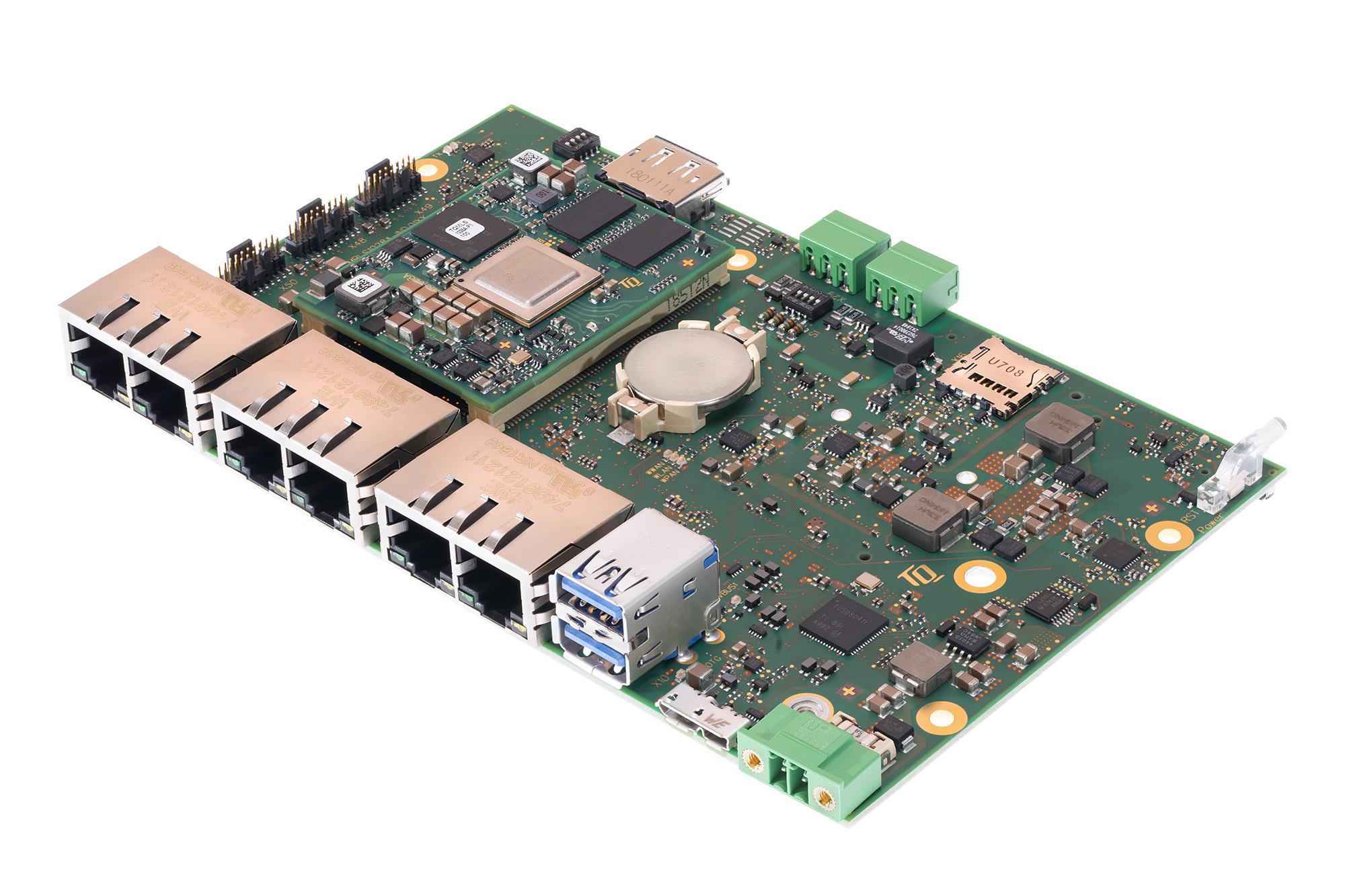 Plattform mit TSN-Switch und integrierter Grafik