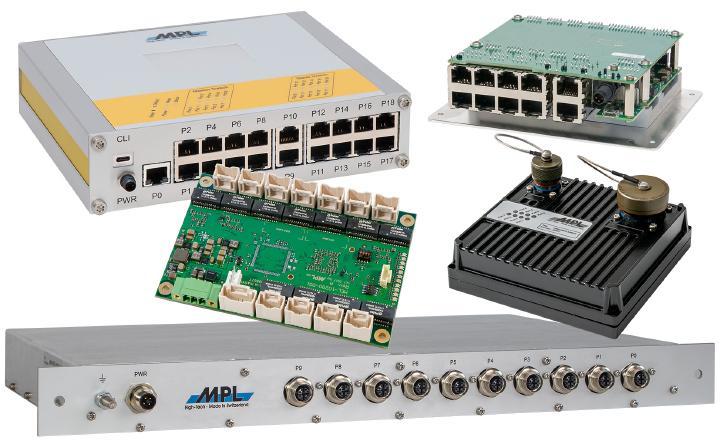 Managed-Gigabit-Switch mit großem Temperatur- und Spannungsbereich