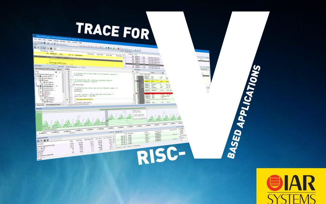Verbessertes Trace für RISC-V-basierte Anwendungen