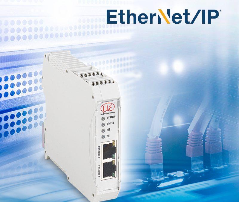 Einfache Sensoranbindung an EtherNet/IP-Steuerungen
