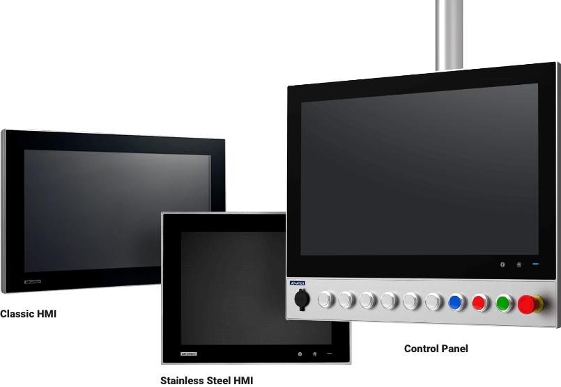 Advantech Panel-PCs SPC-200, SPC-500 und SPC-800 bei Aaronn Electronic