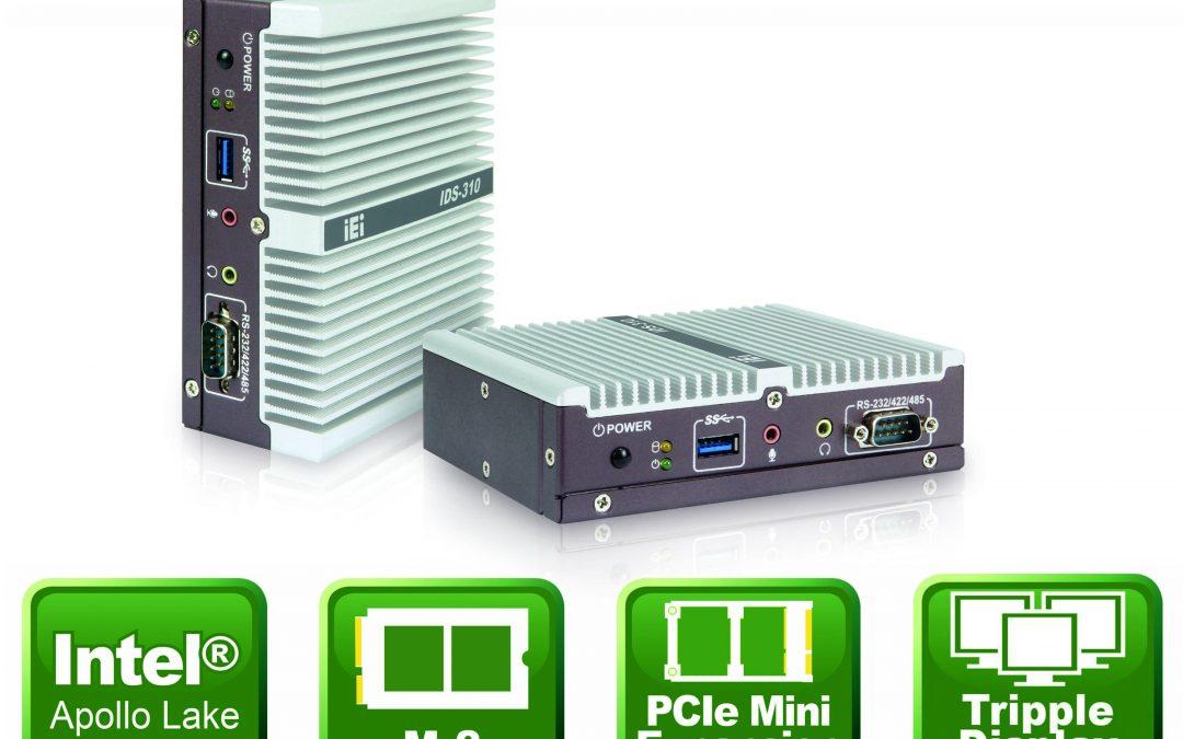 Kompaktes Embedded-System mit dreifacher HDMI-Bildausgabe