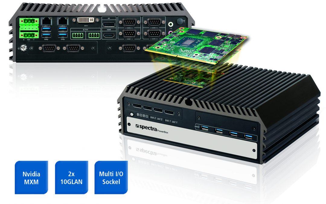 Kompakter Embedded-PC für KI-Anwendungen