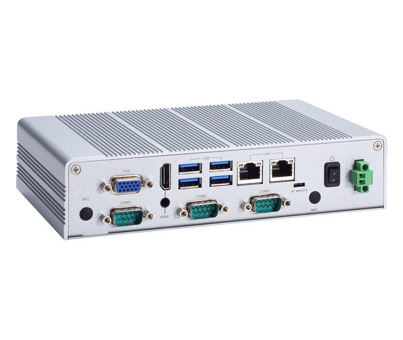 Lüfterloser Embedded-PC mit Schutzklasse IP40