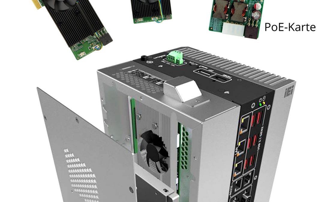 Embedded-PC mit zahlreichen Schnittstellen