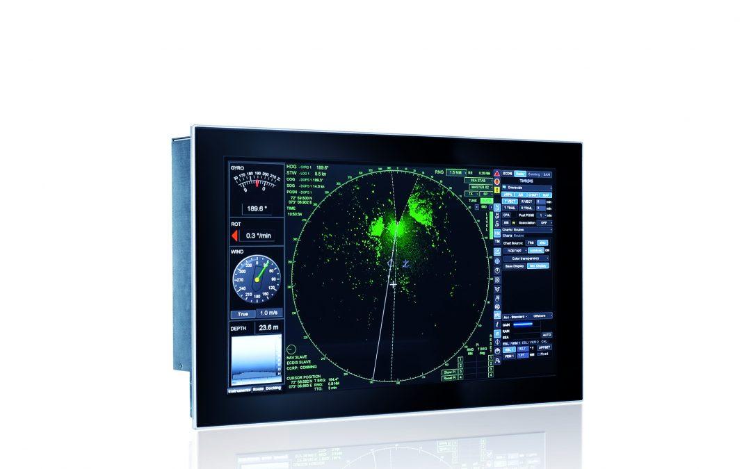 Robuster Panel-PC für maritime Anwendungen