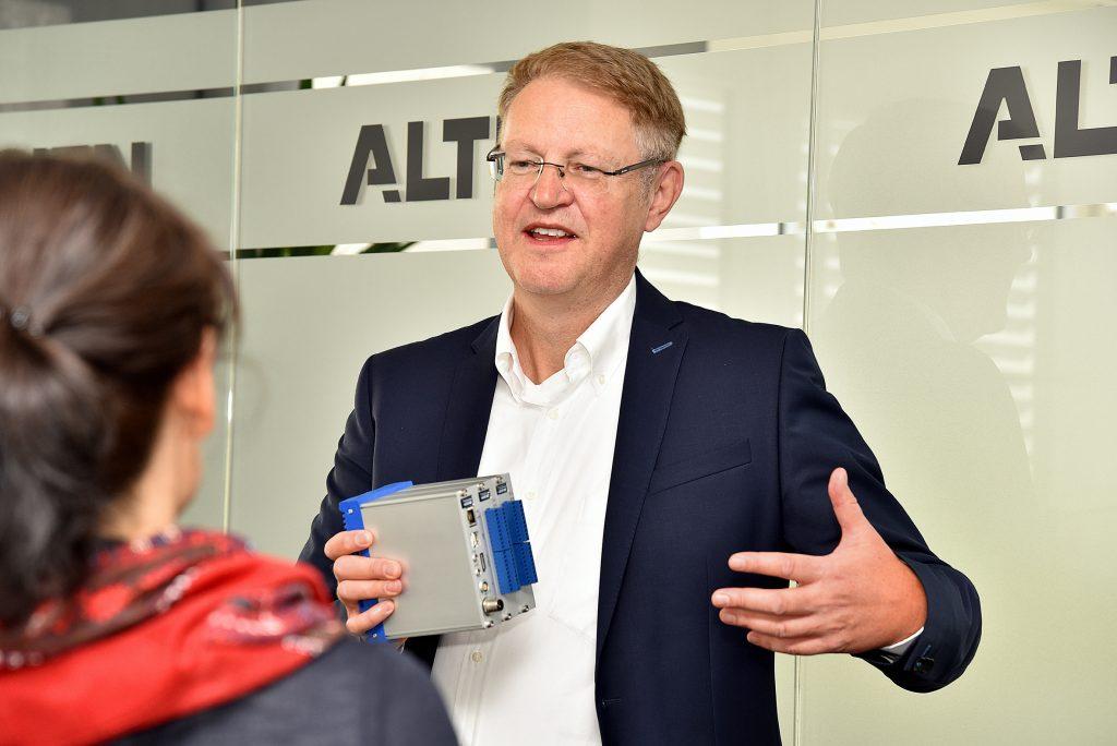 Peter Rohrmann, Director New Business Development beim Mess- und Sensortechnikspezialisten Althen: