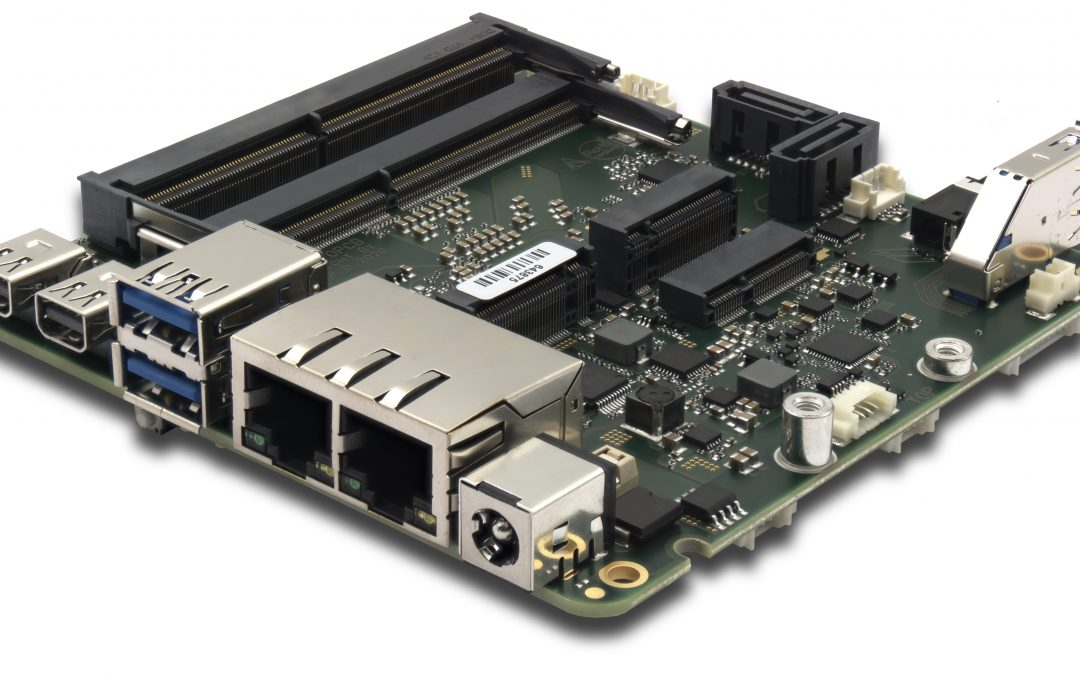 Single-Board-Computer im embedded-NUC-Format