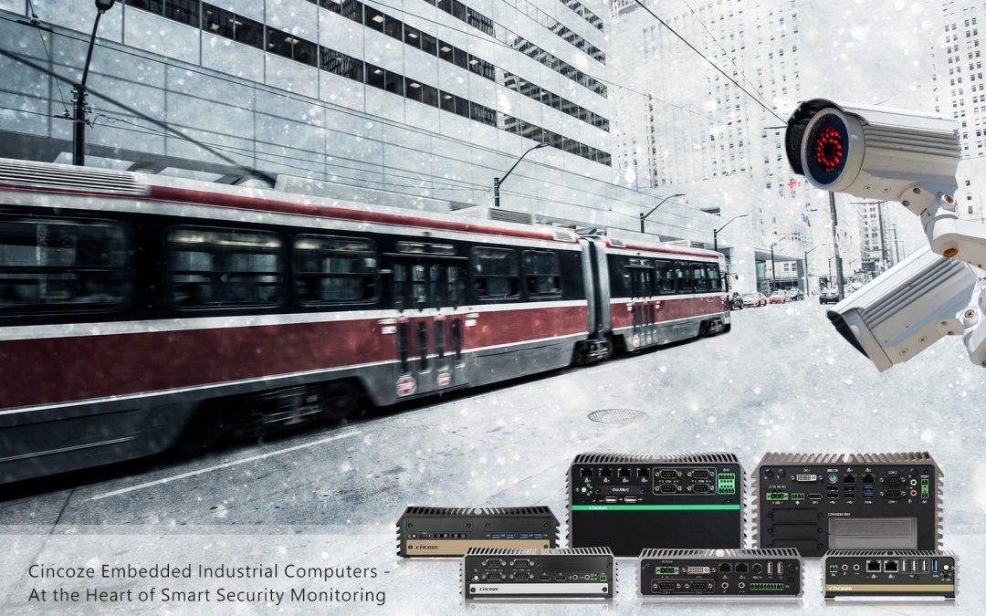 Embedded Industrial Computers für Sicherheitsüberwachung