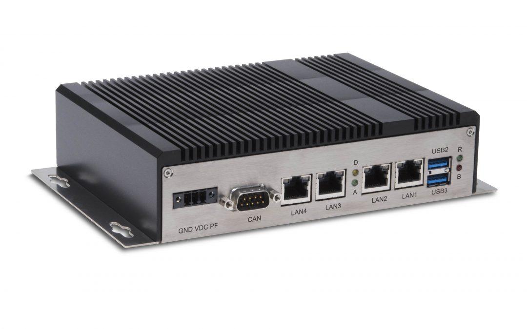 Echtzeitfähiger Box-PC für FTS und Roboter