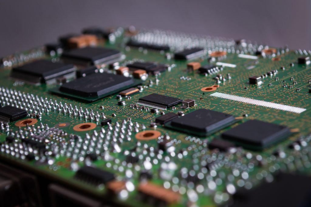 Modern electronic rugged embedded CPU board
